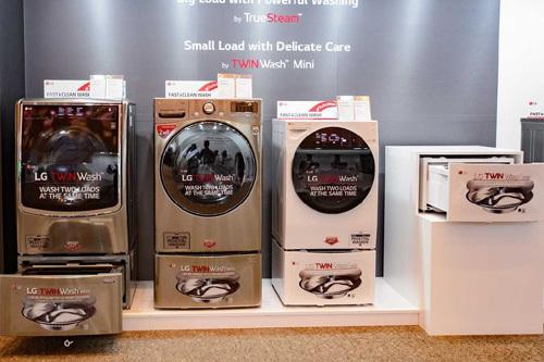 Máy giặt cao cấp được ưa chuộng dịp mua sắm cuối năm