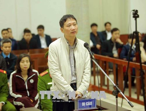 xét xử Trịnh Xuân Thanh, tham nhũng, PVP Land, tham ô, Trịnh Xuân Thanh, PVC