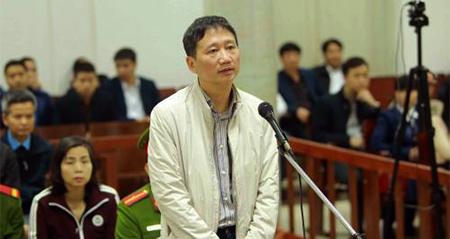 Lần thứ 2 Trịnh Xuân Thanh nhận án chung thân