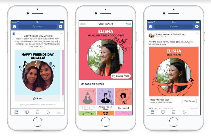 Facebook, Mạng xã hội, Tình bạn