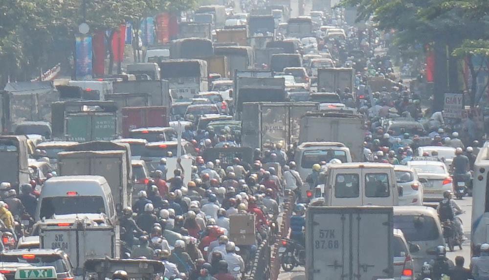 kẹt xe, ùn tắc giao thông, Tân Sơn Nhất, cửa ngõ Tân Sơn Nhất, sân bay Tân Sơn Nhất