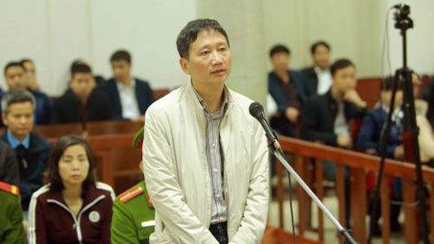 Trịnh Xuân Thanh, Xét xử Trịnh Xuân Thanh, PVC, PVP Land, tham ô,bốc thăm