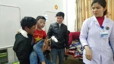 Nổ bình ga khi rán xúc xích ở trường, 7 học sinh nhập viện