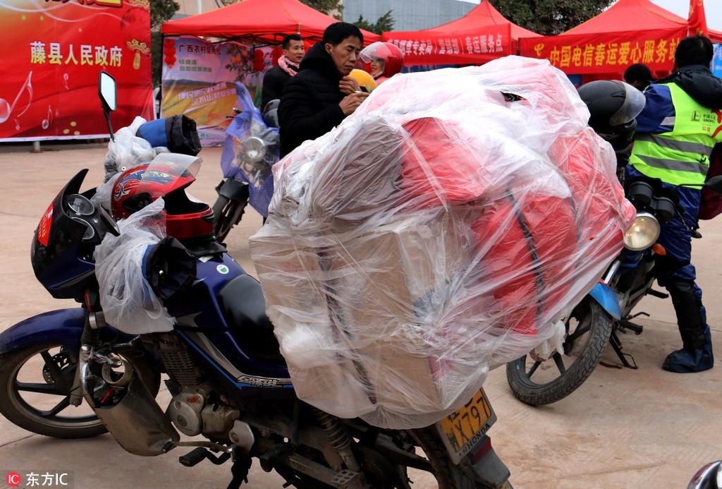 lao động xa nhà, về quê đón Tết, Trung Quốc, Tết Nguyên Đán
