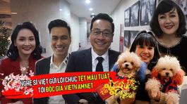 Dàn sao Việt đình đám chúc Tết độc giả VietNamNet