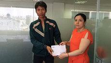 Hơn 18 triệu đồng đến với Lê Thị Vân0