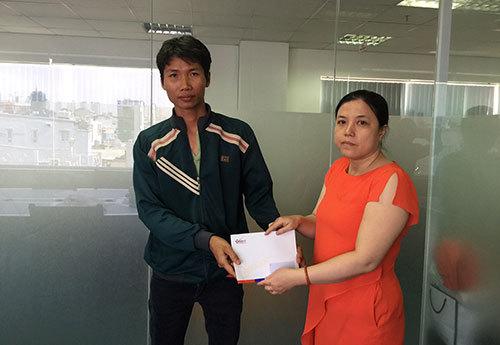 Hơn 18 triệu đồng đến với Lê Thị Vân