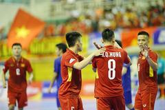 Việt Nam hạ Đài Bắc Trung Hoa để vào tứ kết giải futsal châu Á 2018