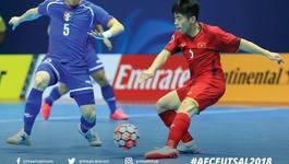 Link xem trực tiếp futsal Việt Nam vs Đài Bắc Trung Hoa,18h ngày 5/2