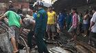 Cháy chợ ngày gần Tết, hai vợ chồng mắc kẹt chết thương tâm