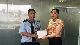 Bé Nguyễn Ngọc Kim Hiền nhận hơn 13 triệu đồng chữa bệnh