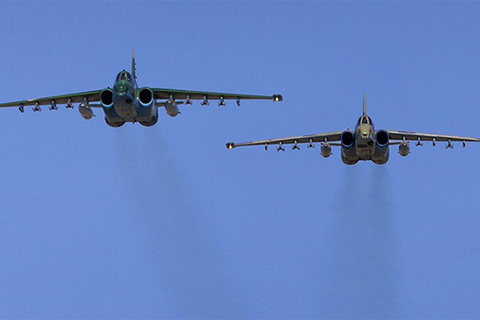 Chiến cơ Su-25 Nga