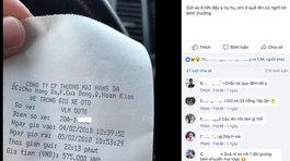 Tài xế Thái Nguyên choáng vì gửi ô tô qua đêm ở Hà Nội hết gần 600.000 đồng
