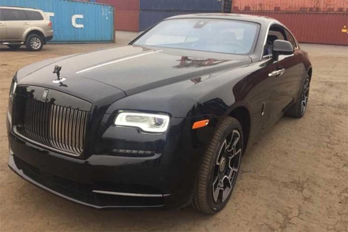 Hé lộ chủ nhân siêu xe Rolls-Royce vừa cập cảng Đình Vũ