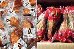 Ngán gà luộc chấm muối: Đổi món cánh ngỗng Nga, đùi gà Hàn Quốc