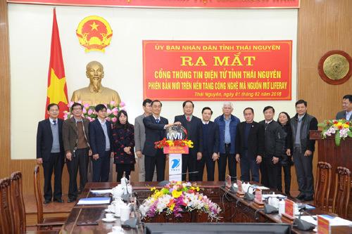 Ra mắt Cổng thông tin tỉnh Thái Nguyên