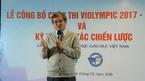 Công bố cuộc thi Violympic năm học 2017-2018 với nhiều cải tiến