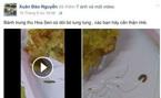 Đăng 'bánh có dòi' lên Facebook, phải bồi thường 12 triệu đồng