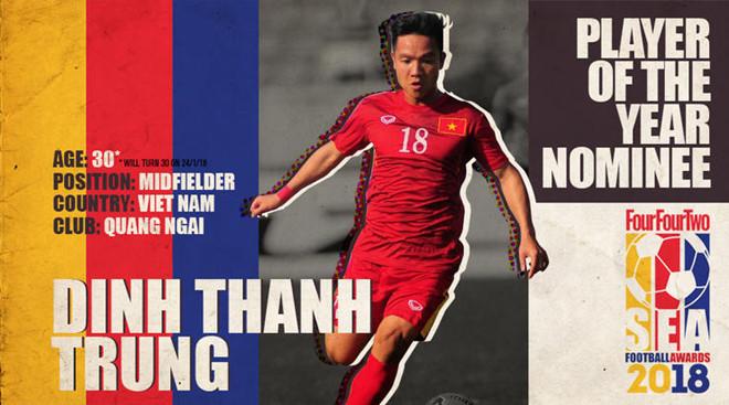 Báo quốc tế đề cử Quang Hải là Cầu thủ trẻ hay nhất ĐNA