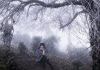 Thiếu nữ huyền ảo trong băng tuyết đỉnh Tà Xùa