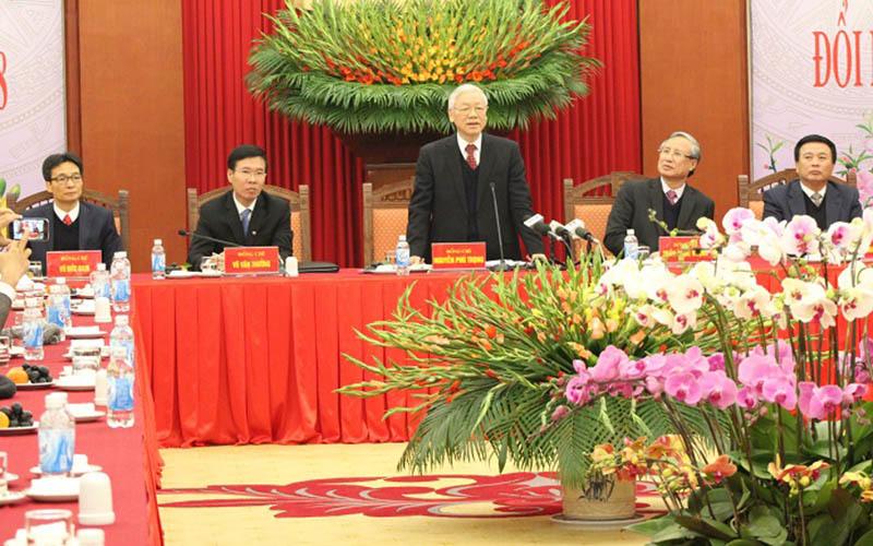Tổng Bí thư,Nguyễn Phú Trọng,chống tham nhũng,Đinh La Thăng,Oceanbank