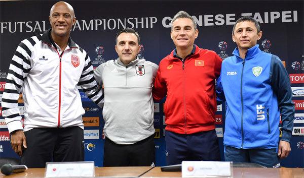 HLV Miguel Rodrigo,Futsal Việt Nam,Futsal Uzbekistan