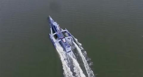 Tàu săn ngầm Sea Hunter của Hải quân Mỹ