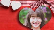 """Hướng dẫn lồng khung ảnh trái tim tặng """"người ấy"""" dịp Valentine"""