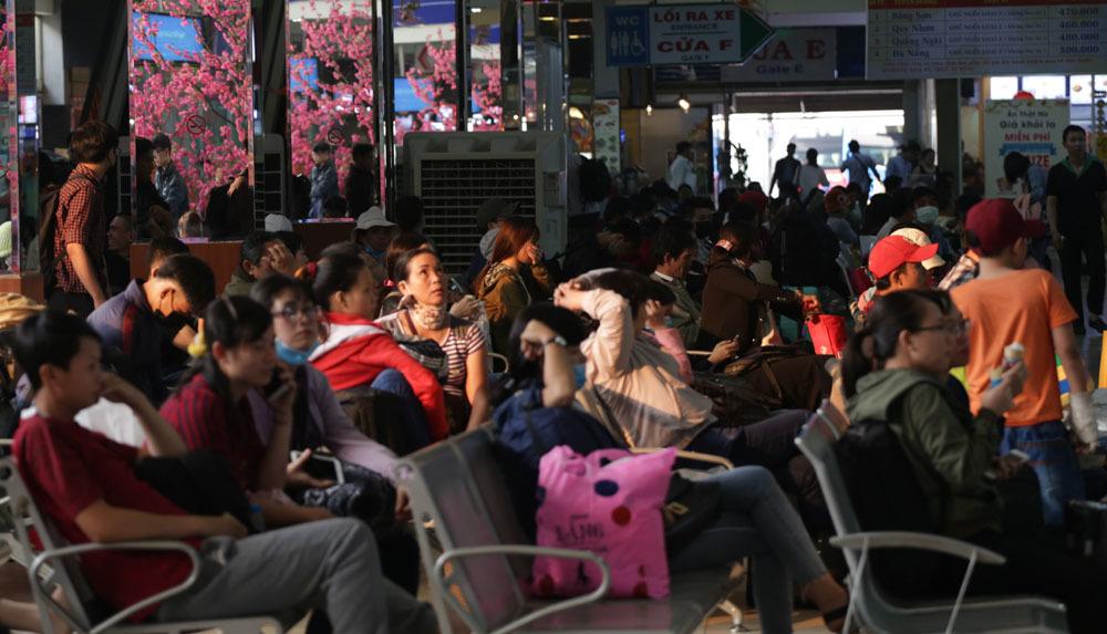 bến xe Miền Đông,sân bay Tân Sơn Nhất,Tết Nguyên đán 2018