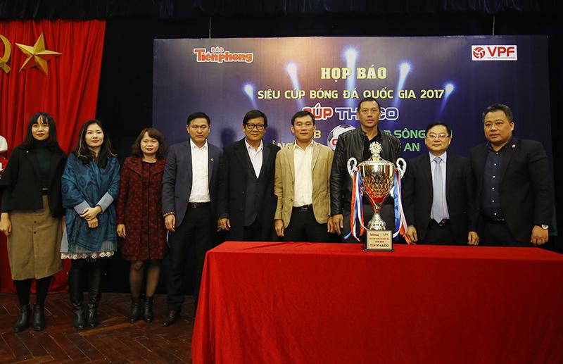Siêu cup 2017,U23 Việt Nam,SLNA,Quảng Nam