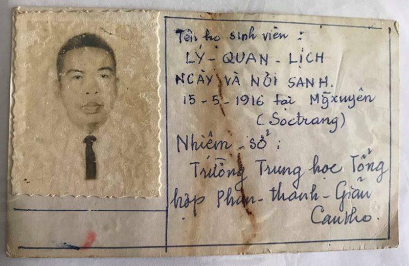 Người thầy lưu giữ những tấm thẻ sinh viên độc đáo trước năm 1975 ở miền Nam
