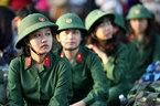 Nữ giới chỉ tốt nghiệp phổ thông có được tham gia nghĩa vụ quân sự?