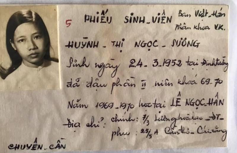 Những tấm thẻ sinh viên độc đáo trước năm 1975 ở miền Nam