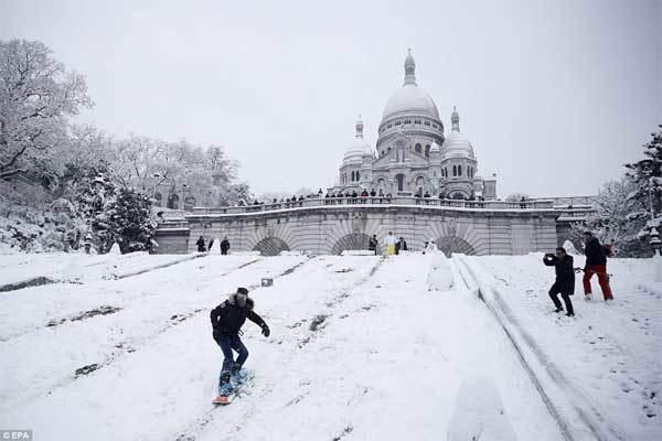 Thủ đô nước Pháp đẹp như xứ sở thần tiên