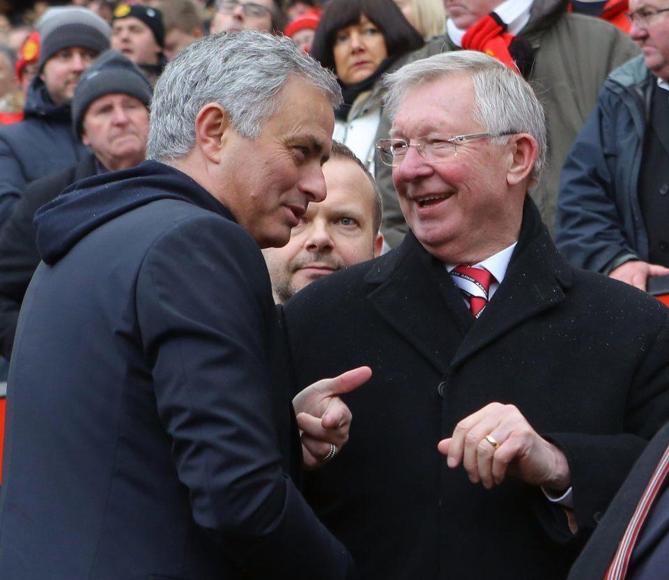 Sir Alex tiến cử cầu thủ MU đặc biệt cho Mourinho