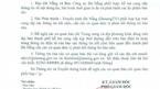 Đà Nẵng thu hồi công văn yêu cầu báo chí cung cấp bản thảo