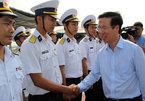 Ông Võ Văn Thưởng thăm vùng 2 Hải quân