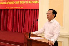 Ông Nguyễn Văn Sinh được bổ nhiệm làm Thứ trưởng Bộ Xây dựng
