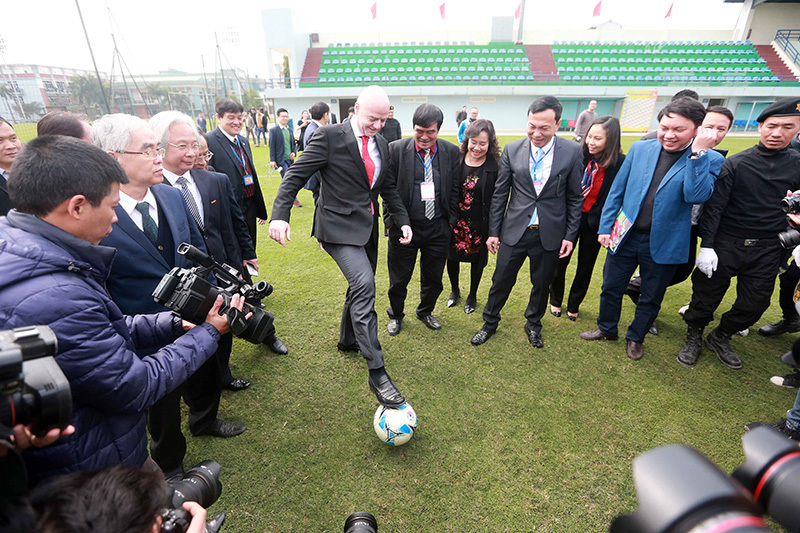 VFF,Gianni Infantino,Chủ tịch FIFA,FIFA