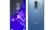 Hình ảnh Galaxy S9 Plus xanh san hô đẹp như tranh vẽ