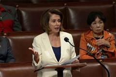 Lãnh đạo phe thiểu số ở Hạ viện Mỹ phát biểu suốt 8h