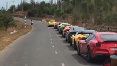 Quá nhiều siêu xe trong cùng chung 1 đoạn phim