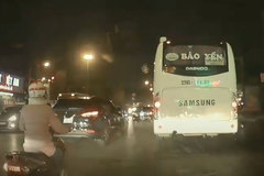 'Ninja Lead' rẽ không quan sát, va chạm liên hoàn với 2 ô tô