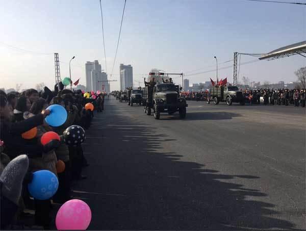 Triều Tiên diễu binh không hoành tráng như dự đoán