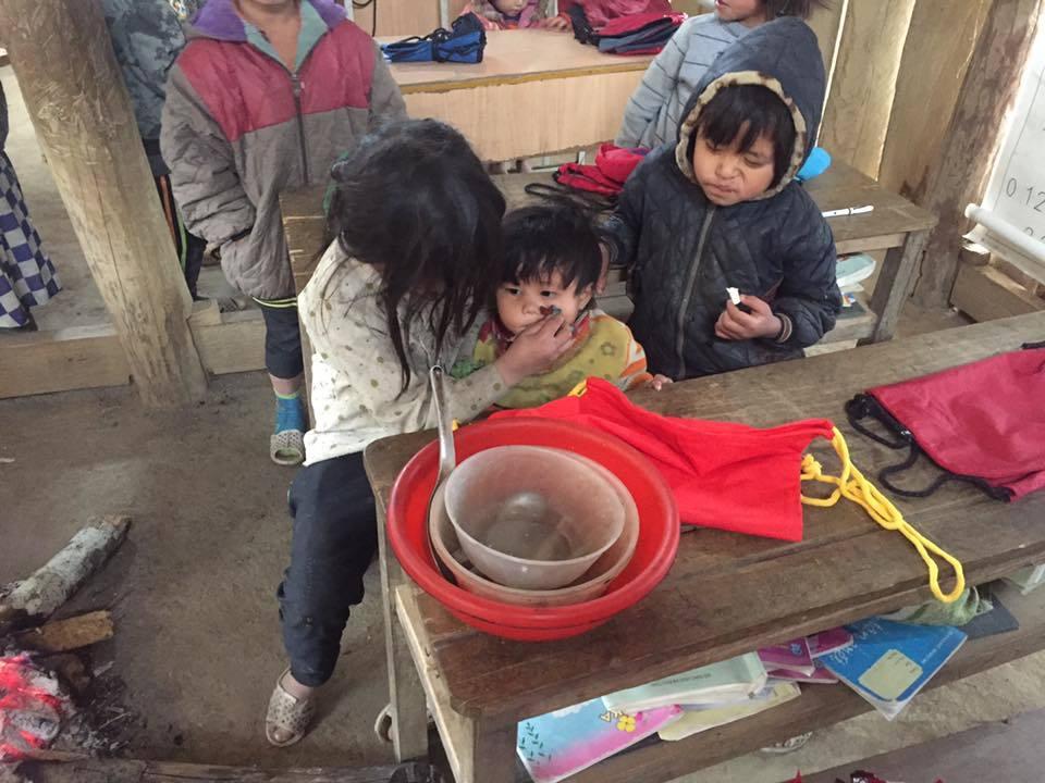 học sinh vùng cao,Tết Nguyên Đán