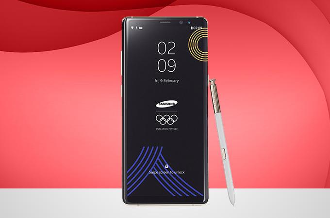 VĐV Olympic Triều Tiên không được nhận Galaxy Note 8