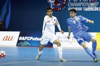 Thua đáng tiếc Uzbekistan, futsal Việt Nam dừng bước ở tứ kết
