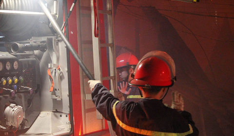cháy xưởng Đại Mỗ