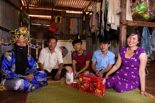 1,5 tỉ đồng Lộc xuân NESCAFÉ về tay người mẹ nghèo Gia Lai