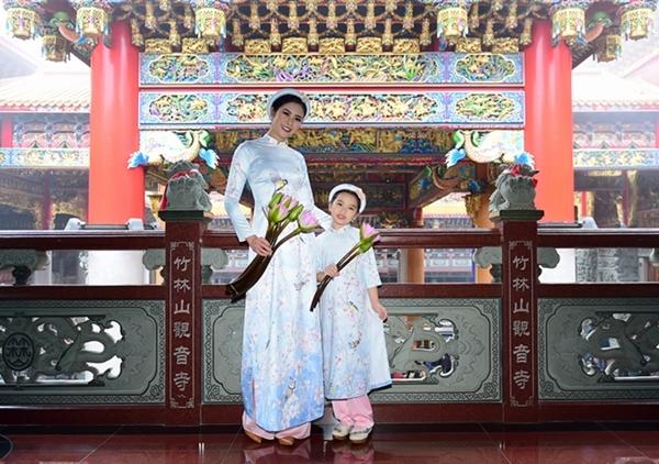 Hoa hậu Ngọc Hân,áo dài,Đài Loan
